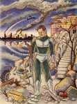 Larry Johnson artist, science fiction illustation, fantasy art, Chronx