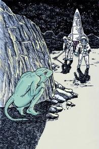 Larry Johnson artist, science fiction illustration, Bart Rover, Tales of Fantasy