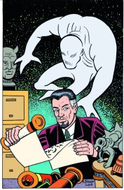 Larry Johnson artist, Steve Ditko, Dr. Graves, Charlton Comics, Ditkomania, fantasy illustration