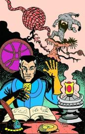 Larry Johnson artist, Steve Ditko, Doctor Strange, Strange Tales, Marvel Comics, Ditkomania