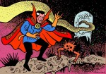 Larry Johnson artist, Doctor Strange, Strange Tales, Marvel Comics, Steve Ditko, Ditkomania, the Spiny Beast