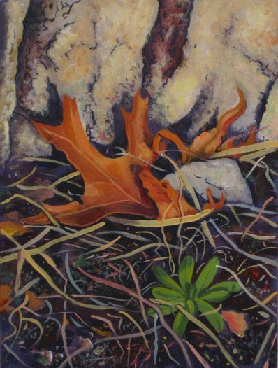 Larry Johnson artist, landscape painting, nature