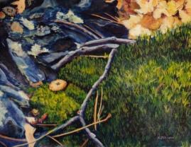 Larry Johnson artist, nature painting, landscape