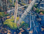 Larry Johnson artist, nature painting, landscape