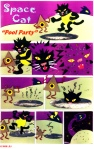 Space Cat Tales of Fantasy cartoon cat small press comic book collage comic strip