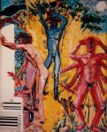 Larry Johnson artist, oil painting, mythology, nude, man, fantasy