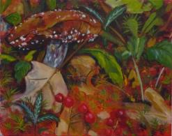 mushroom berries