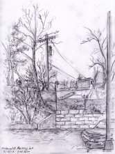 sketchbook macdonald's parking lot adjust